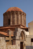 Church of St George, Rhodes, Greece. A picture of the Church of St George, located in the old city, Rhodes, Greece royalty free stock photos