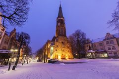 Church of St. George in Sopot. Sopot, Pomerania, Poland stock photo