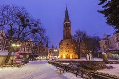 Church of St. George in Sopot. Sopot, Pomerania, Poland stock image