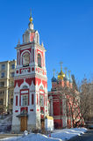 The church of St. George on street Varvarka in Moscow, Russia Royalty Free Stock Photography