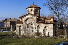 Church of St. George in Town of Kyustendil, Bulgaria. KYUSTENDIL, BULGARIA - JANUARY 15, 2015: Church of St. George in Town of Kyustendil, Bulgaria Royalty Free Stock Images