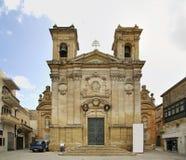 Church of St. George in Victoria. Gozo island. Malta Stock Image