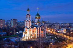 Church of St. George the Victorious, Odintsovo Stock Photo
