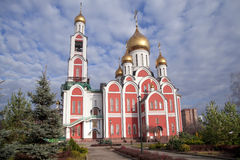 Church of St. George the Victorious. Odintsovo, Moscow region, Russia Royalty Free Stock Photo