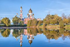 Church of St. George the Victorious  in Odintsovo Royalty Free Stock Photo