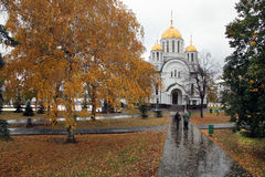 Church of St.George Victorious in Samara Stock Images