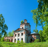 The Church of St. George in the village Egorov, Ivanovo oblast, Royalty Free Stock Image