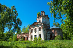 The Church of St. George in the village Egorov, Ivanovo oblast, Stock Photography