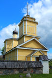 Church of St.George. Voronich, Pskov Region, Russia Stock Photography