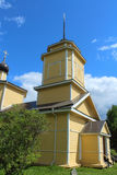 Church of St.George. Voronich, Pskov Region, Russia Royalty Free Stock Image