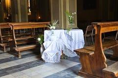 Church of St. Giacomo. Ponte dell'Olio. Emilia-Romagna. Italy. Stock Photography