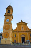 Church of St. Giacomo. Ponte dell'Olio. Emilia-Romagna. Italy. Royalty Free Stock Photography