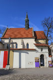 Church of St. Giles in Krakow, Poland Royalty Free Stock Images