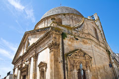 Church of St. Gioacchino. Ceglie Messapica. Puglia. Italy. Stock Photo