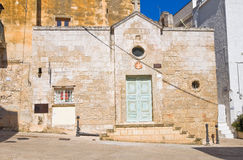 Church of St. Giovanni. Monopoli. Puglia. Italy. Stock Photo