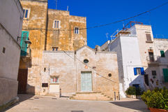 Church of St. Giovanni. Monopoli. Puglia. Italy. Royalty Free Stock Photos