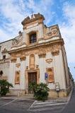 Church of St. Giovanni. San Vito dei Normanni. Puglia. Italy. Stock Images