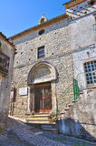 Church of St. Giuseppe. Alberona. Puglia. Italy. Royalty Free Stock Photos