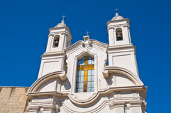 Church of St. Giuseppe. Barletta. Puglia. Italy. Royalty Free Stock Photo