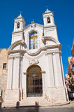Church of St. Giuseppe. Barletta. Puglia. Italy. Royalty Free Stock Images