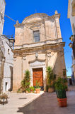 Church of St. Giuseppe. Castellaneta. Puglia. Italy. Royalty Free Stock Photography