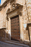 Church of St. Giuseppe. Conversano. Puglia. Italy. Royalty Free Stock Photo