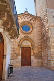 Church of St. Giuseppe. Fasano. Puglia. Italy. Stock Photos