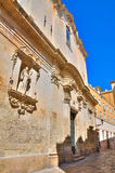 Church of St. Giuseppe. Lecce. Puglia. Italy. Stock Photo