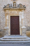 Church of St. Giuseppe. Manduria. Puglia. Italy. Royalty Free Stock Photography