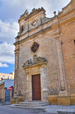 Church of St. Giuseppe. Manduria. Puglia. Italy. Stock Images