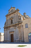 Church of St. Giuseppe. Manduria. Puglia. Italy. Royalty Free Stock Image