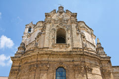 Church of St. Giuseppe. Nardo. Puglia. Italy. Stock Photos