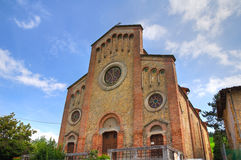 Church of St. Giuseppe. P. Parmense. Emilia-Romagna. Italy. Royalty Free Stock Photography
