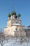 Church of St. Gregory the Theologian. Russia, Rostov. Church of St. Gregory the Theologian in the Rostov Kremlin Royalty Free Stock Photo
