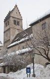 The Church of St. Hippolytus. Zell am See. Austria stock photo