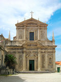 Church of St. Ignatius, Dubrovnik Royalty Free Stock Photos