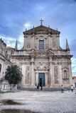Church of St. Ignatius in Dubrovnik Royalty Free Stock Image