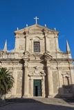 Church of St. Ignatius in Dubrovnik Royalty Free Stock Images
