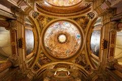 Church of St. Ignatius of Loyola. Rome. Stock Photo