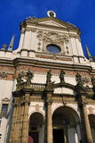 The Church of St Ignatius, Prague, Czech Republic Stock Photography