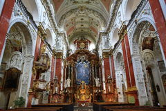 The church of St. Ignazio, which faces the Charles Square and the Jesuit campus, became a centre of the Jesus Fellowship Order in. A picture of the church of St Royalty Free Stock Photography