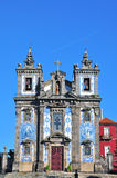 Church of St. Ildefonso in Porto, Portugal Stock Photos