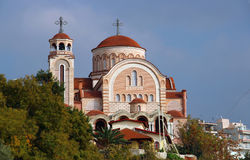 Church of St. Ioannis Rossos, Thessaloniki Royalty Free Stock Images