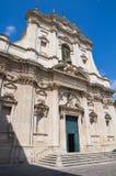 Church of St. Irene. Lecce. Puglia. Italy. Stock Image