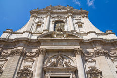 Church of St. Irene. Lecce. Puglia. Italy. Stock Photography
