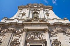 Church of St. Irene. Lecce. Puglia. Italy. Stock Photography