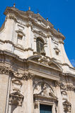 Church of St. Irene. Lecce. Puglia. Italy. Royalty Free Stock Image