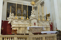 Church of St. Irene. Lecce. Puglia. Italy. Royalty Free Stock Images