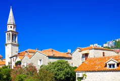 Church of St Ivan, Budva old town, Montenegro Royalty Free Stock Photography