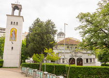 Church of St. Ivan Rilski in Burgas in Bulgaria Royalty Free Stock Photography